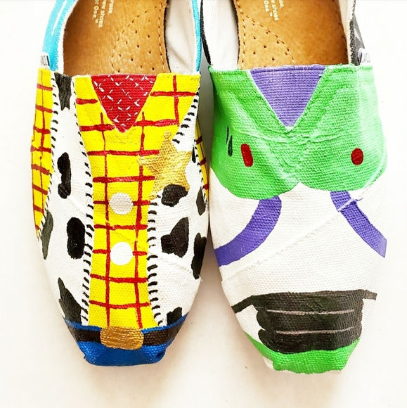 Toms Shoes | Toy Story Size 9 Womens